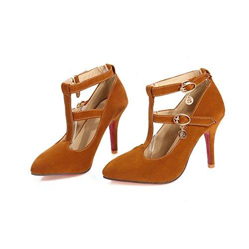 Adee, Scarpe col tacco donna apricot