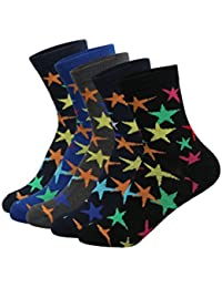 Supersox Kid's Pack of 5 Regular Combed Cotton Socks Combo-5