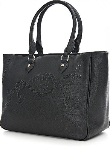 LIU JO CORALLO SHOPPING BAG N66226E0140 Nero
