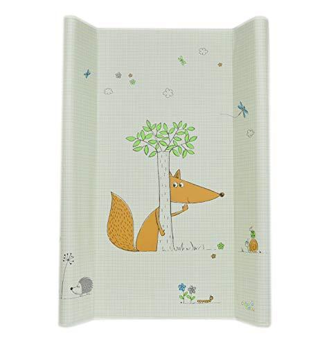 Wickelunterlage mit Schutzkante, abwischbar, wasserdicht, 50 x 70 cm