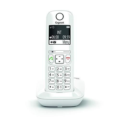 Gigaset AS690 - Schnurlostelefon ohne Anrufbeantworter - DECT-Telefon mit Freisprechfunktion, großes Display, große Tasten - Festnetztelefon, weiß