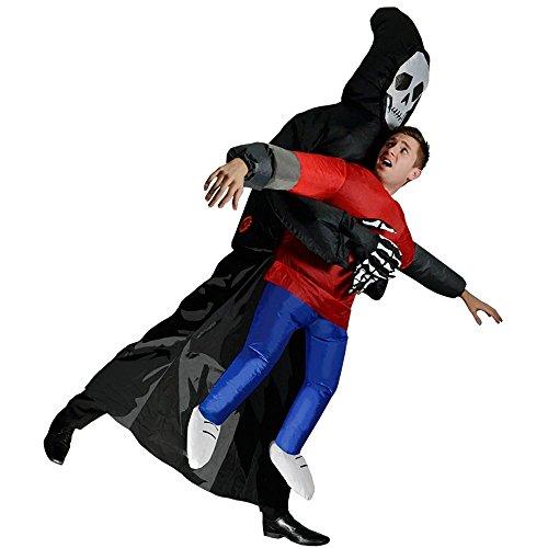Kostüme Aufblasbare Geist Halloween (Aufblasbare Kostüm Geist Cosplay Halloween Party Anzug Erwachsene Outfit)
