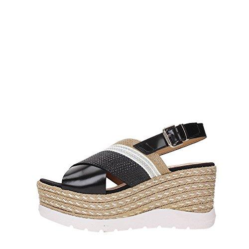 KANNA KV7271 Sandalo Donna Nero