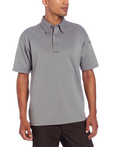 PROPPER Herren I.C.E Long Sleeve Regular Performance Polo Shirt grau