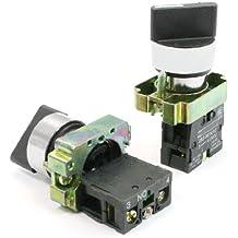 2 PIEZAS Posición 2 2 Terminales NÚMERO SPST Interruptor Selector Rotatorio Enclavamiento 10A 600V