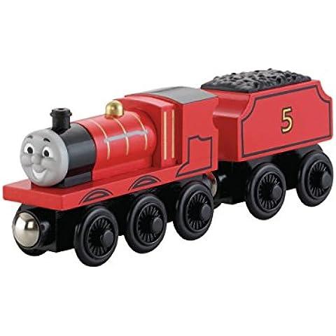 Mattel Y4070 trene de juguete - trenes de juguete (Negro, Rojo, Madera, 2 Año(s))