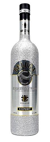 Beluga-Vodka-70cl-40-Vol-Bling-Bling-Glitzerflasche-silber-Enthlt-Sulfite