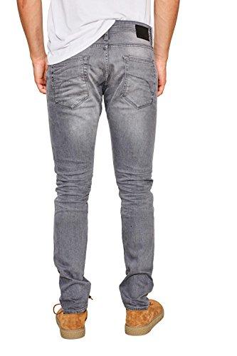 edc by ESPRIT Herren Skinny Jeans Grau (Grey Medium Wash 922)