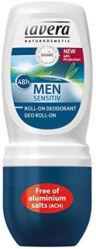 Lavera Men Sensitiv Desodorante Roll On 48h - vegano