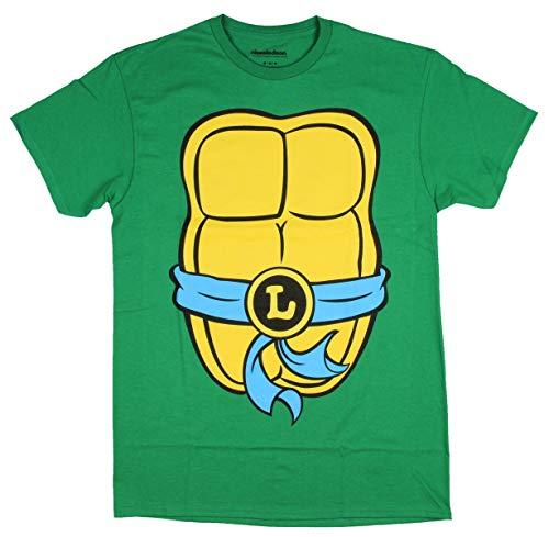 Nickelodeon Herren T-Shirt Teenage Mutant Ninja Turtles TMNT - Grün - 3X-Groß