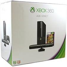Xbox 360 E + Mando + Kinect + Juego Kinect Adventures - Color Negro