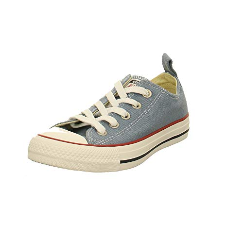 Converse Unisex-Erwachsene Chuck Taylor All Star Sneaker Mehrfarbig (Wash Denim/Vintage White 000) 41 EU