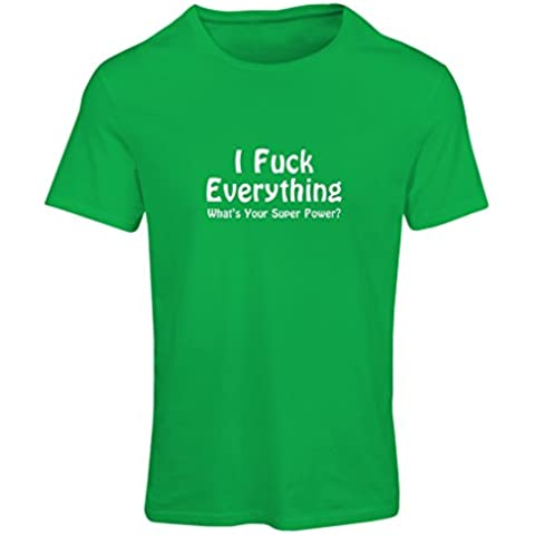 N4020F Camiseta mujer I F..k Everything gift