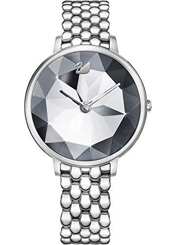 Swarovski Damen-Armbanduhr 35mm Armband Edelstahl + Gehäuse Quarz 5416017