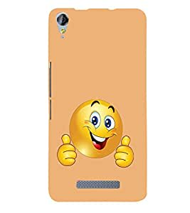 Fabcase A smile that keeps us awake Designer Back Case Cover for Micromax Canvas Juice 3 plus Q394