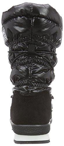 Ice Peak Winona Jr, Bottes de Neige mixte enfant Noir (black 990)