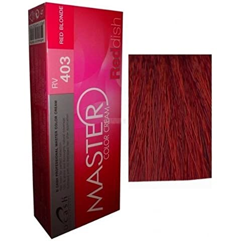 Hair Colour Permanent Hair Cream Dye Red Blonde by Dcash Master by Dcash Master