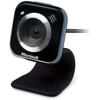 Microsoft LifeCam VX-5000 Webcam couleur audio Hi-Speed USB Bleu
