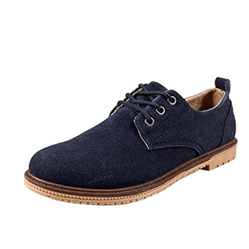 Men's High Quality Oxford Shoes Sky Blue
