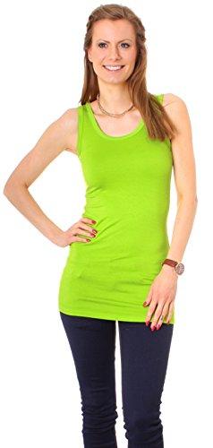 Plusieurs couleurs débardeur de sport pour femme en coton taille trägertop tunique dinal t-shirt à manches longues pour femme vert pomme