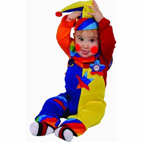 Kostüm Super Clown - Dress Up America Süßes Süsse-Clown-buntes Kostüm