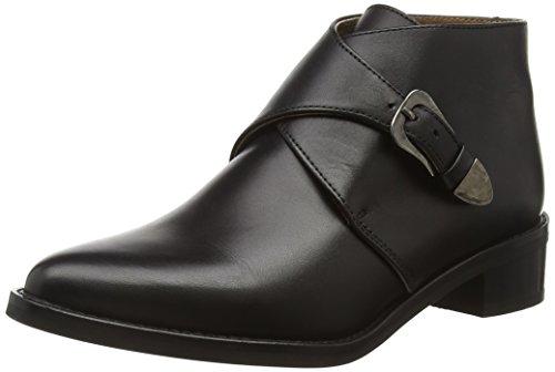 SELECTED FEMME Damen SFSCARLETT Leather Boot Bootsschuhe, Schwarz (Black), 39 EU