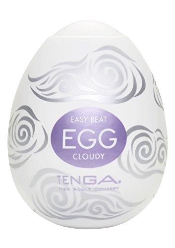 Tenga Egg Einweg-Masturbationsei Cloudy, Hard Boiled