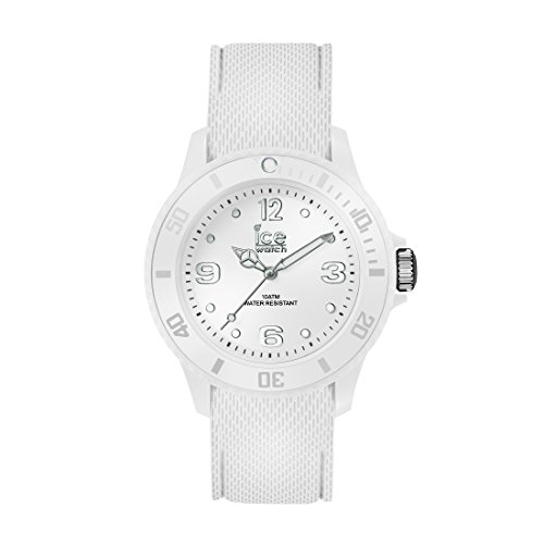 Ice-Watch - ICE sixty nine White - Weiße Damenuhr mit Silikonarmband - 014581 (Medium)