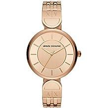 956899599bad Armani Exchange Reloj Analógico para Mujer de Cuarzo con Correa en Acero  Inoxidable AX5328