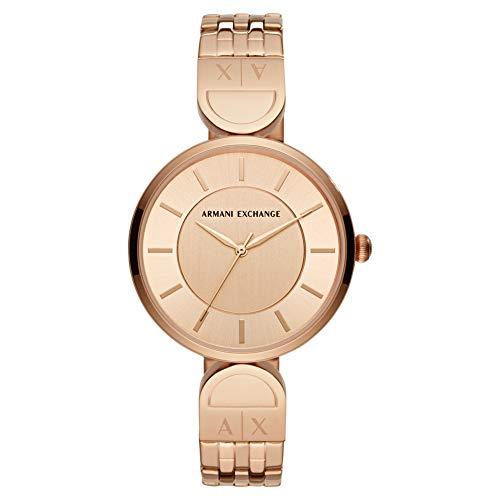 17c19e220cc2 ... Armani Exchange Reloj Analógico para Mujer de Cuarzo con Correa en Acero  Inoxidable AX5328