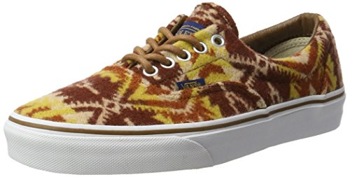 Vans Unisex-Erwachsene Era Sneakers Braun