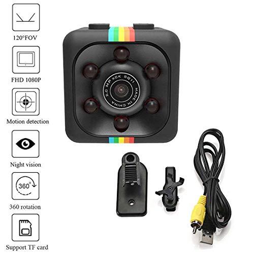 Bravoy Mini Wireless-Kamera, versteckte Kameras für Innen- oder Außenüberwachung, HD 1080P Spy Camera Wireless Überwachungskamera für Home Office oder Car Video Recorder - Mini-video-versteckte Kamera