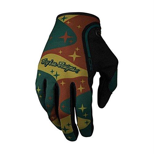 Troy Lee Designs Handschuhe XC Cosmic Grün Gr. XL (Lee Designs Logo Troy)