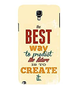 FUSON Perfect Future Create It 3D Hard Polycarbonate Designer Back Case Cover for Samsung Galaxy Note 3 :: Samsung Galaxy Note Iii :: Samsung Galaxy Note 3 N9002 :: Samsung Galaxy Note 3 N9000 N9005