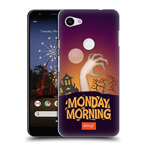 Head Case Designs Offizielle Emoji® Montagmorgen Halloween Parodien Harte Rueckseiten Huelle kompatibel mit Google Pixel 3a XL