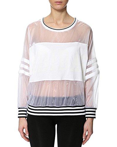 adidas Originals Women's Cotton Logo Sweater (S19964_White_36)