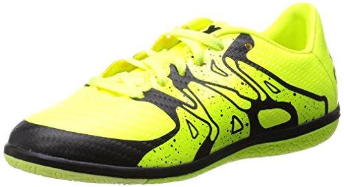 adidas X15.3 In, Chaussures de football garçon Jaune