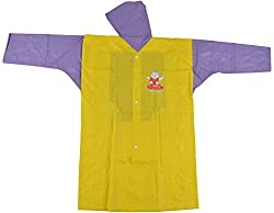 Mayur Plain Colour with School Bag Kids Raincoat