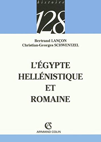 L'Égypte hellénistique et romaine