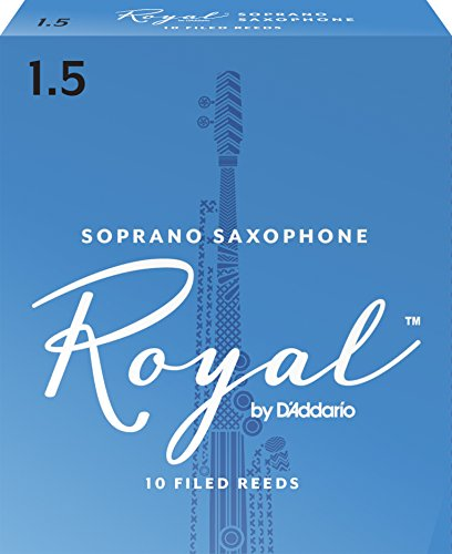 Royal Blätter für Sopransaxophon Stärke 1.5 (10 Stück)