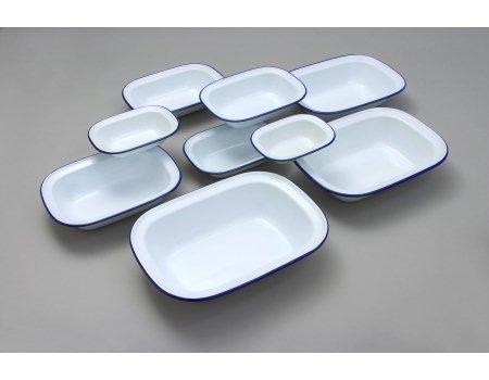 genware-44018-enamel-rectangular-pie-dish-18-cm-white-blue