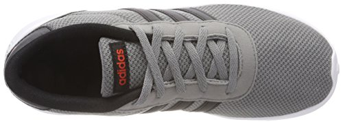 adidas Unisex Kinder Lite Racer Gymnastikschuhe, Mehrfarbig (Grey Three F17core Blackcore Red S17), 38 23 EU