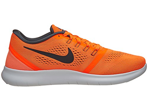 Nike 831508-800, Sneakers trail-running homme Bleu (Total Orange/university Rot/weiß/anthrazit)
