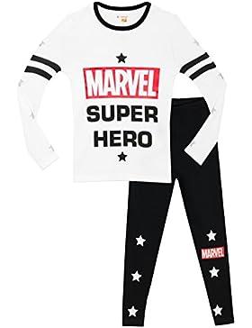 Marvel - Pijama para niñas - Marvel Comics - Ajuste Ceñido