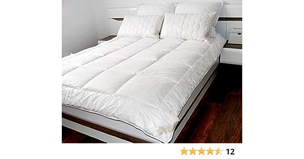 Breathable Merino Wool Quilt King Bed DUVET 220 x 230cm medium 8-10 tog 500gsm