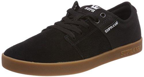 Supra Stacks II, Sneakers Basses Homme, Bleu (Navy/Tan-White), 40.5 EU