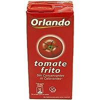 Orlando - Tomate Frito Clásico, Brik 350 g - [pack de 12]