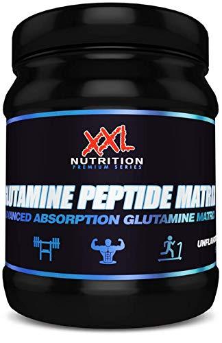XXL Nutrition Glutamine Peptide Matrix | 3 Formen der Aminosäure Glutamin | 500g