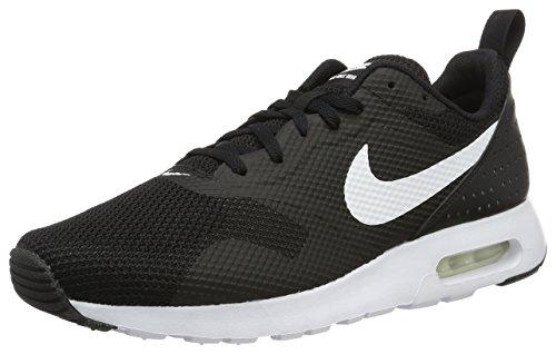 Nike Air Max Tavas, Herren Laufschuhe, Schwarz (Black/White), 40 EU