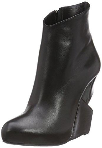 Chariline de luca michi, stivali classici imbottiti a gamba corta donna, nero (nero (black/silver)), 38